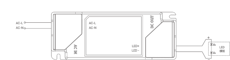 Non-dimmable driver CEL series
